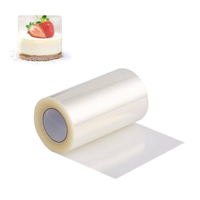 Cake Collars Clear Acetate Strips Mousse Cake Decor