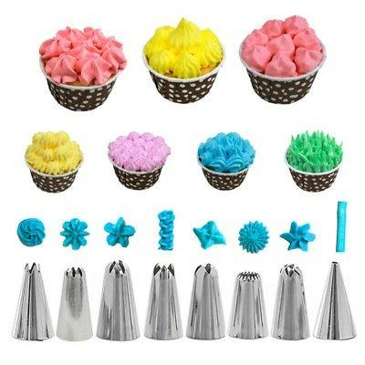 Cake Russian Icing Bags Nozzles Set