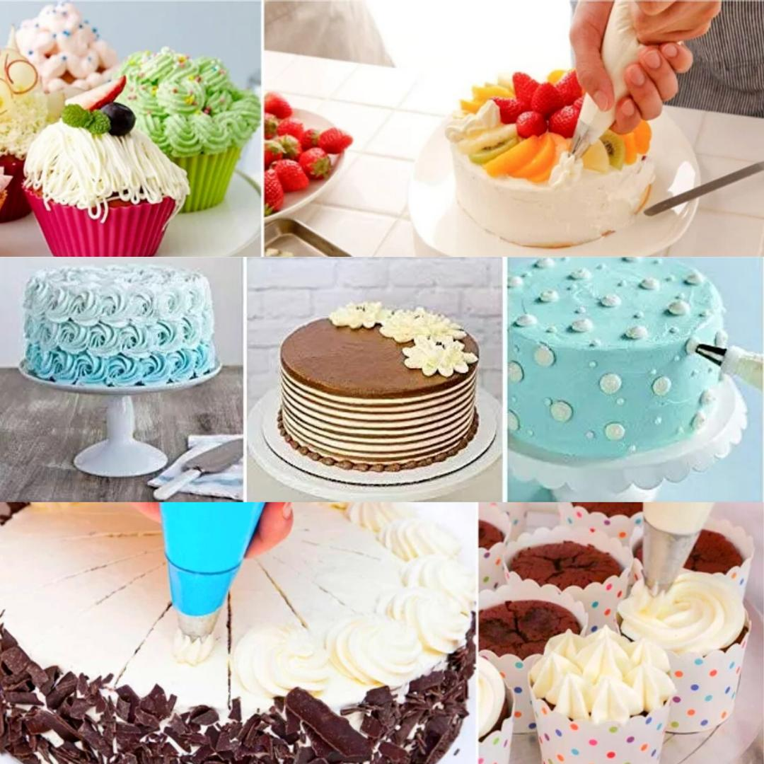 Cake Kit Tools Piping Pastry Bags 43