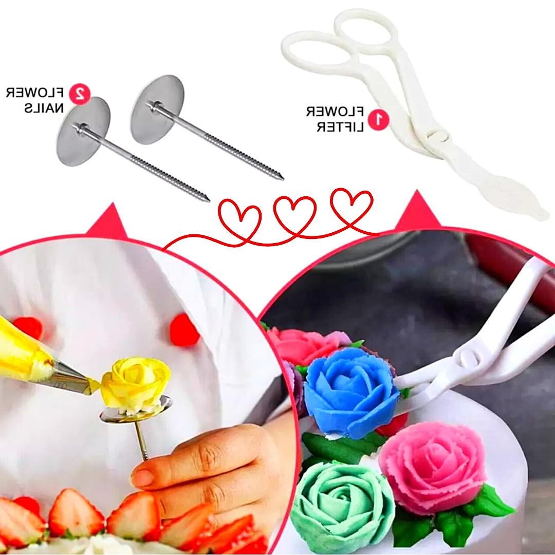 Cake Tools Pastry Icing 43 Pcs