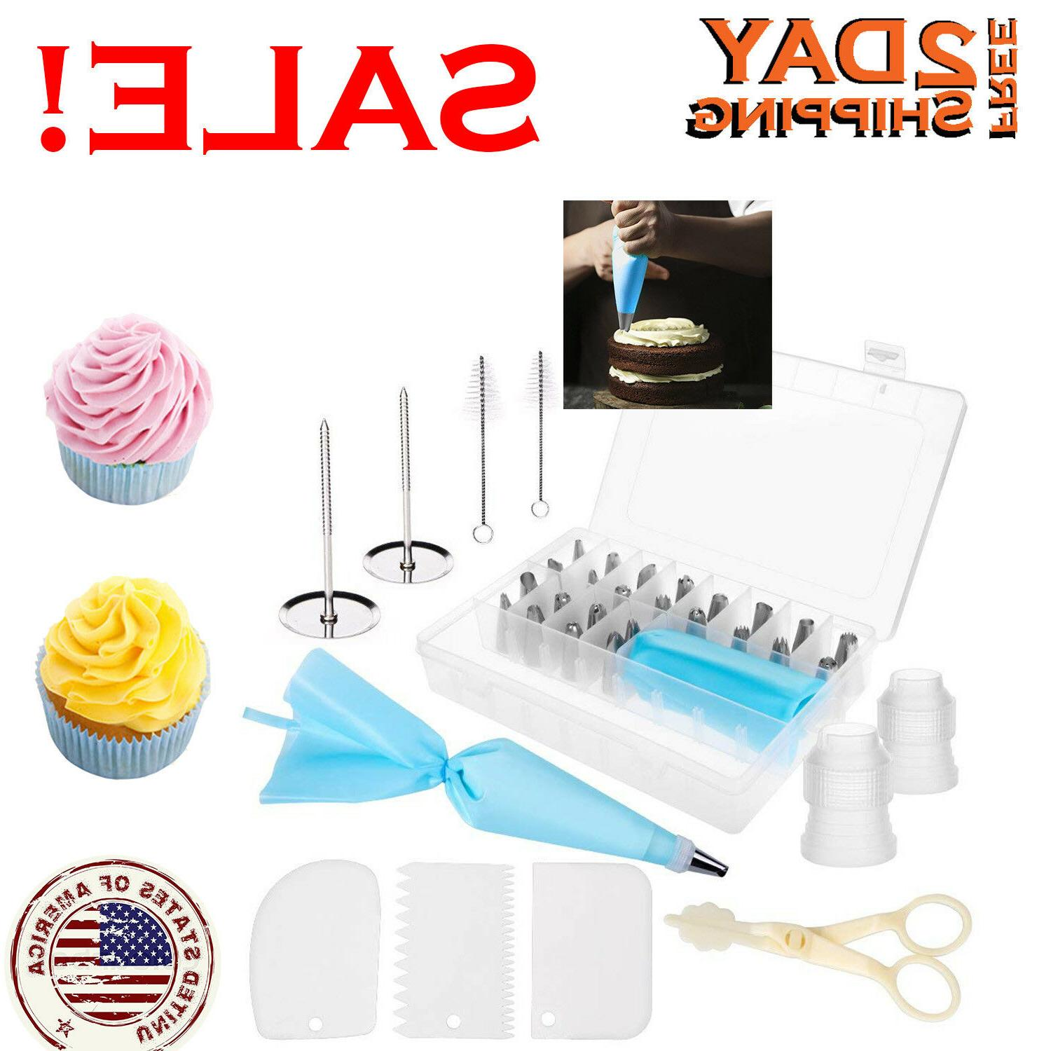 Cake Decorating Kit Tools Bags Tips Bags Nozzles