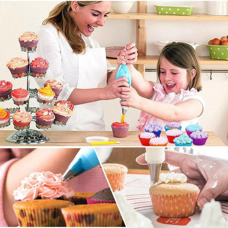 Cake Decorating Supplies Set Tools Pastry Icing Nozzles Hot