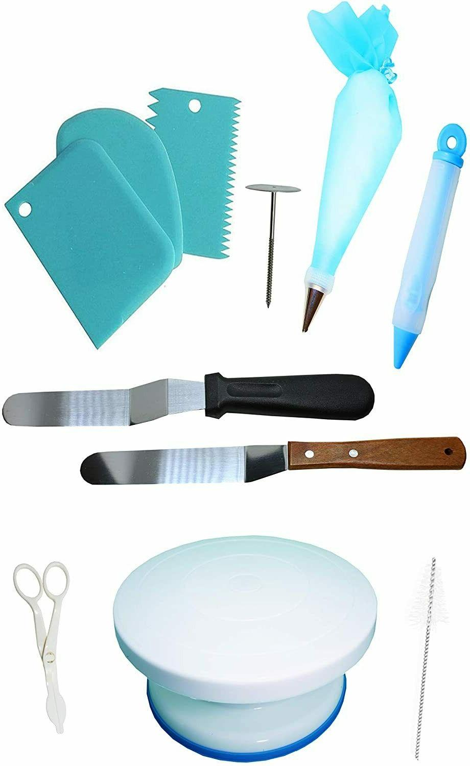 Cake Decorating Stand Pieces