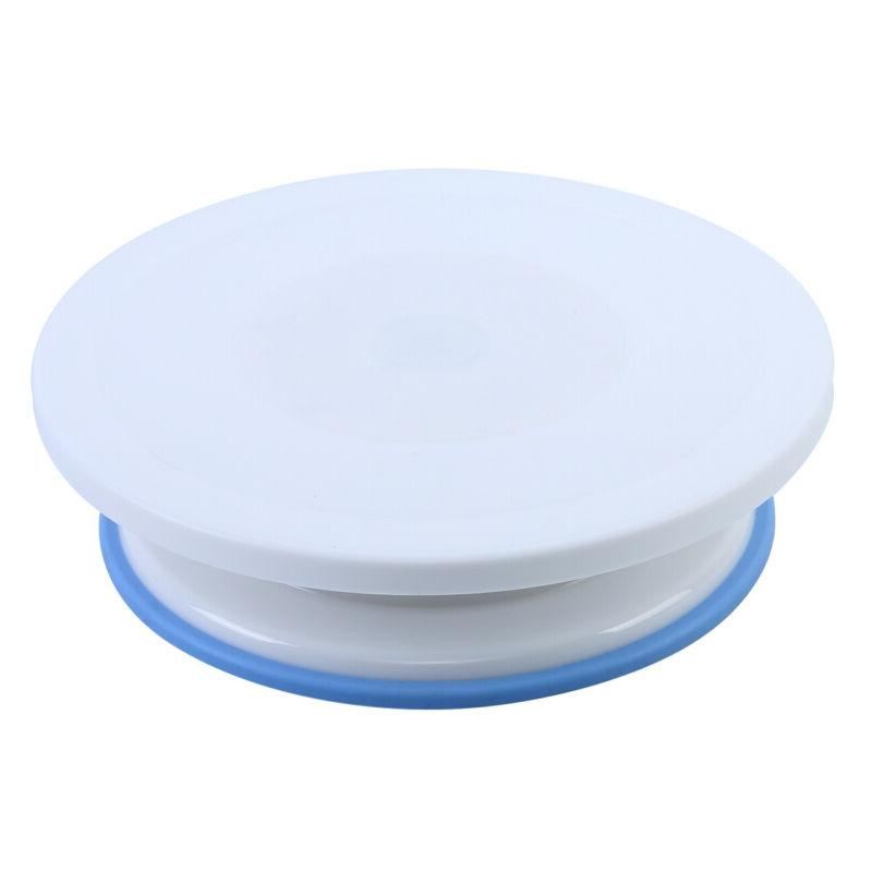 106pcs Cake Supplies Pieces Kit Baking Tools Turntable Stand