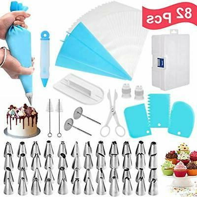 cake icing dispensers and tips decorating kit