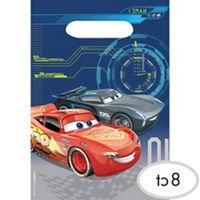 Cars 3 Favor Loot Bags 8 count