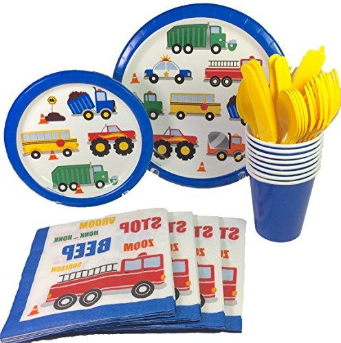 cars trucks birthday party supplies
