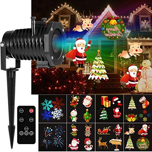 Christmas Light Projector.Yunlights Christmas Light Projector 15 Pattern Led Projector Light Christmas Decorations With Wireless Remote Timer Holiday Projector For Outdoor