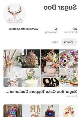 CLEARANCE ONLY Timber Cake Decor