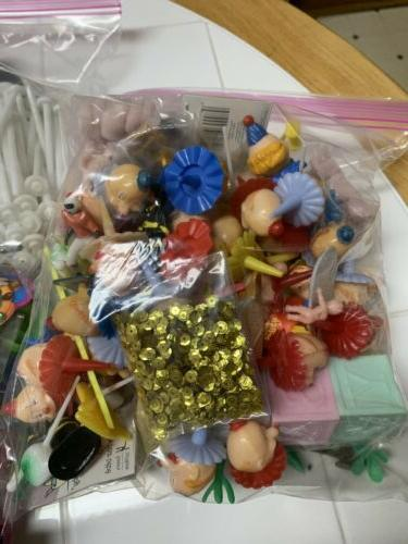 CLEARANCE!! HUGE Lot Wilton Cake Decorations New