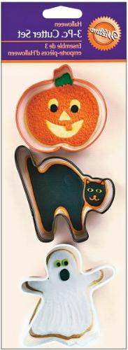 Wilton Cookie Cutter Set, Halloween 3 ct. 2308-1265