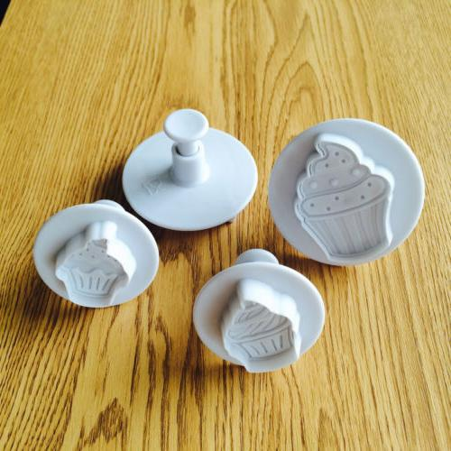 Cookies Plunger Cutter Fondant Pastry Mold