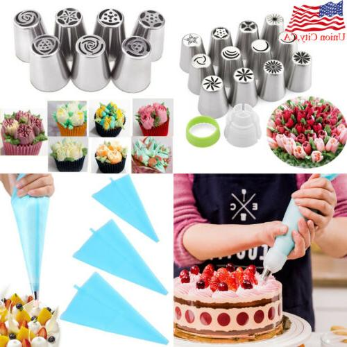 diy russian tulip flower cake icing piping
