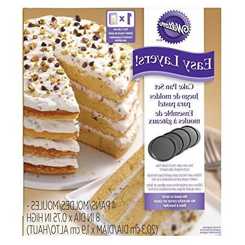 Wilton Easy Round Layer Cake 4-Piece