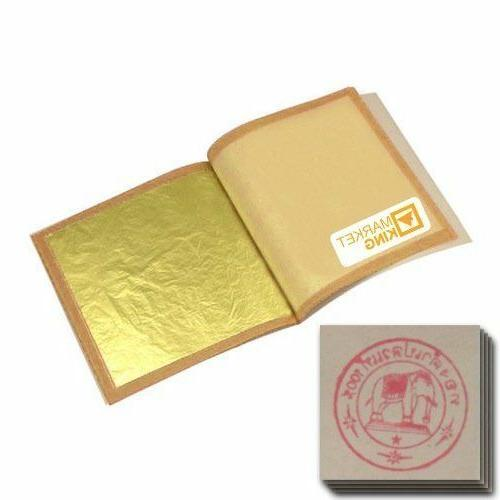 edible gold leaf sheets 30 piece 24