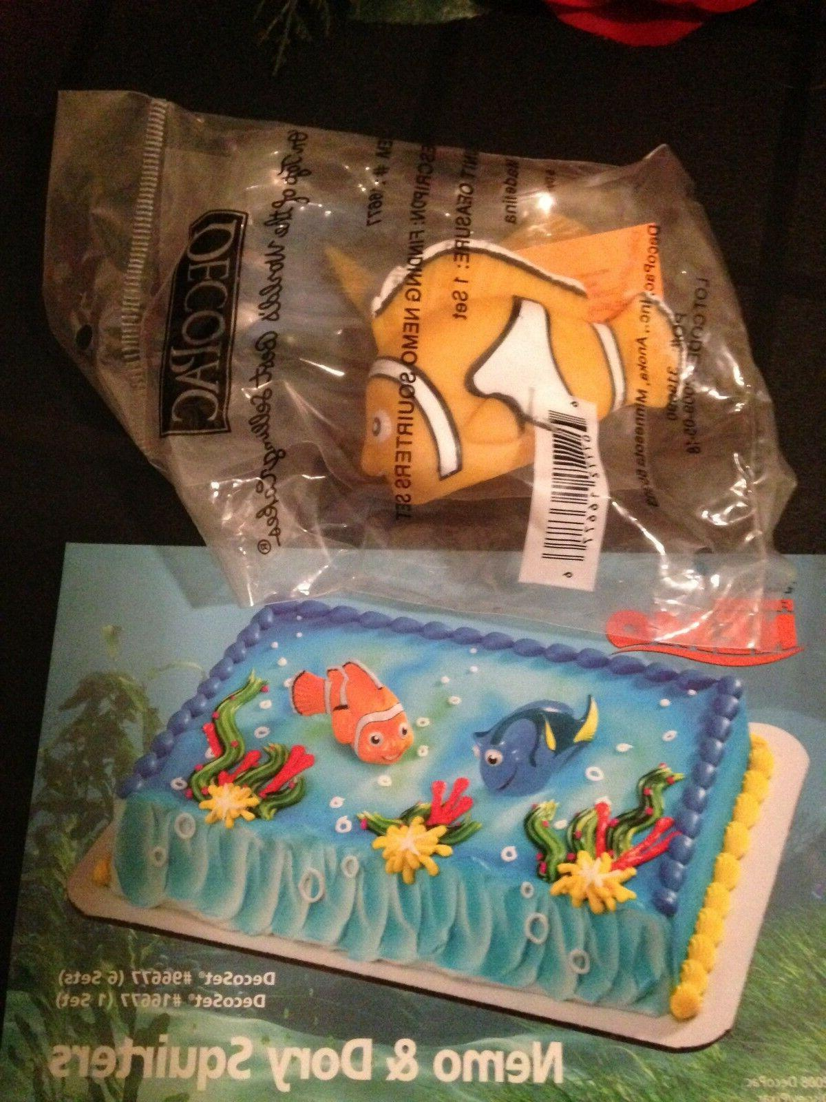 finding nemo and dory squirters cake topper