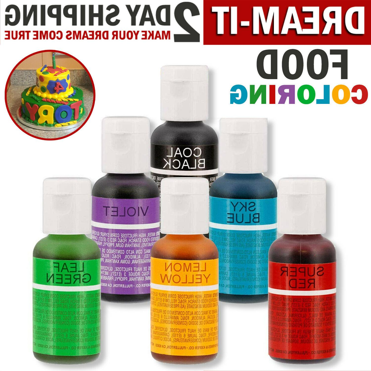 Food Coloring Cake Decorating Kit Baking icing Paint