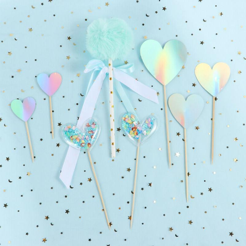 Glitter Crown Toppers Cake Topper Transparent