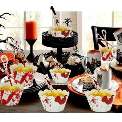 Halloween Cake Toppers Decoration