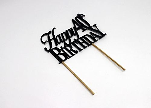 40th Cake Topper,1pc, 40th Birthday, Cake Decoration, Party