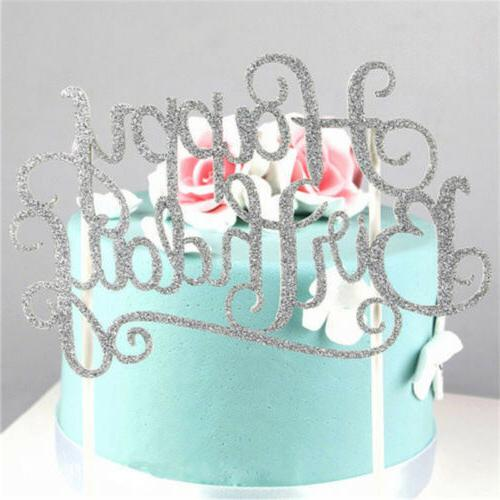 """""""Happy Birthday""""Simple DIY Topper Supplies Decorations FT"""