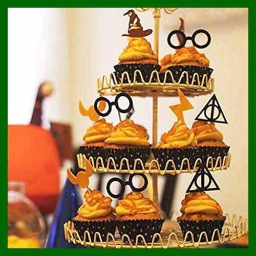 Harry Cupcake Toppers Party Cake