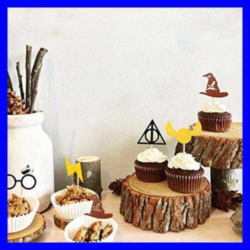 Harry Potter Inspired Toppers Party Cake Pac
