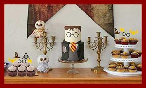 Harry Potter Inspired Toppers Cake