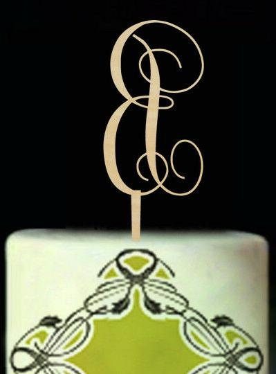 letter a to z cake topper birthday
