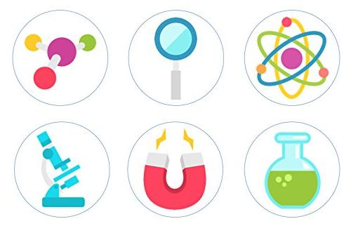 Mad Scientist Science Edible Cupcake Toppers Decorati
