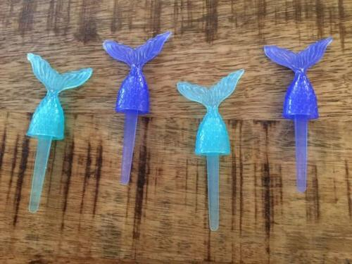 mermaid tail ocean cake cupcake decoration toppers