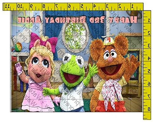 muppet babies personalized edible frosting
