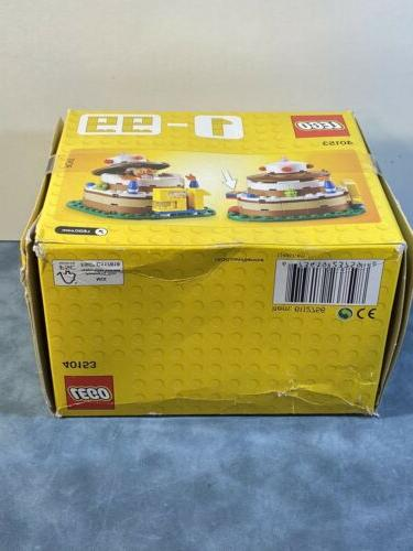 New and Sealed LEGO 40153 Birthday Table Decoration Box