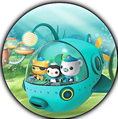 Octonauts Round Edible Birthday Cake