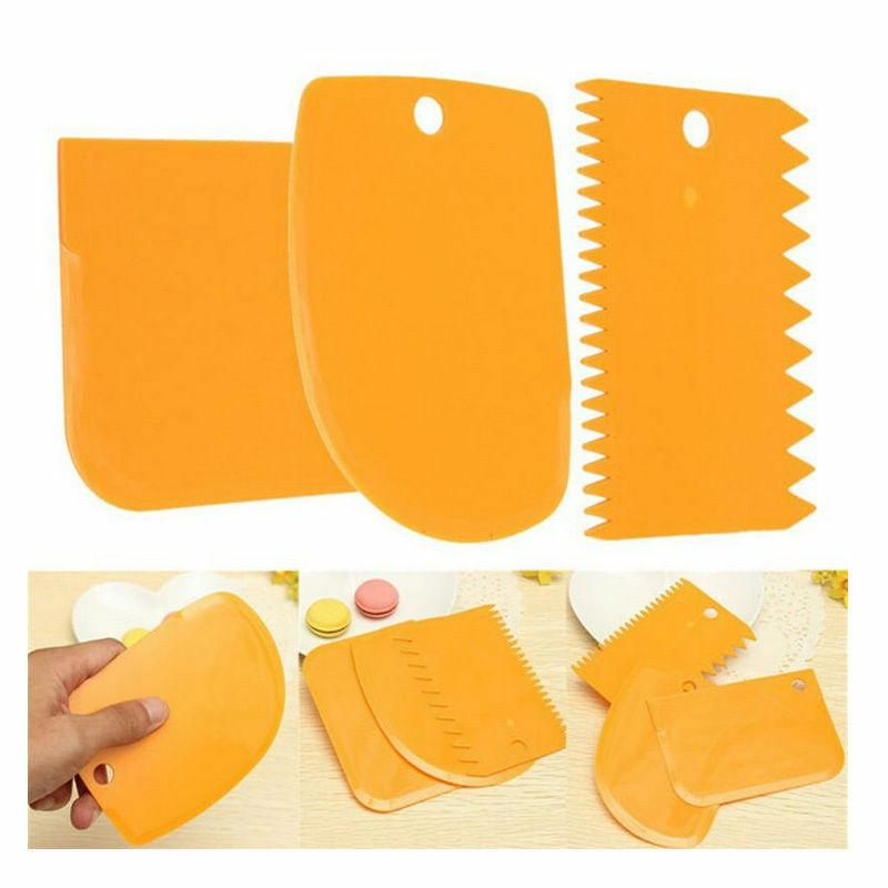 Plastic Dough Cutter Icing Cake Baking