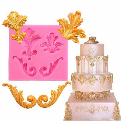Relief Fondant Mould Vintage Cake Border Mold
