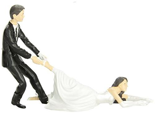 Reluctant Bride Cake Topper by Accoutrements - 11987