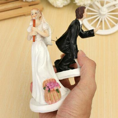 Resin Cake Love Favors Bride and Groom