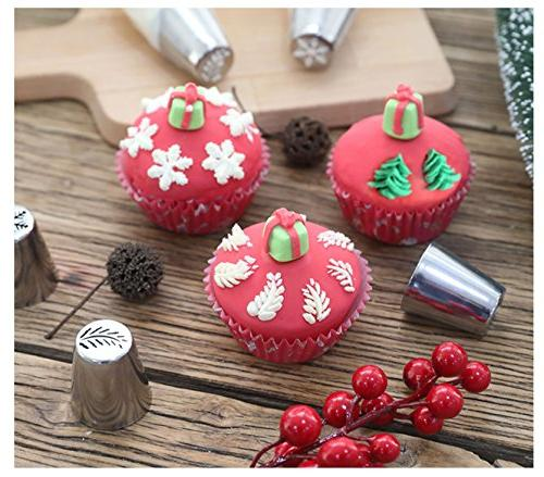 Piping Tips Christmas For Cakes -