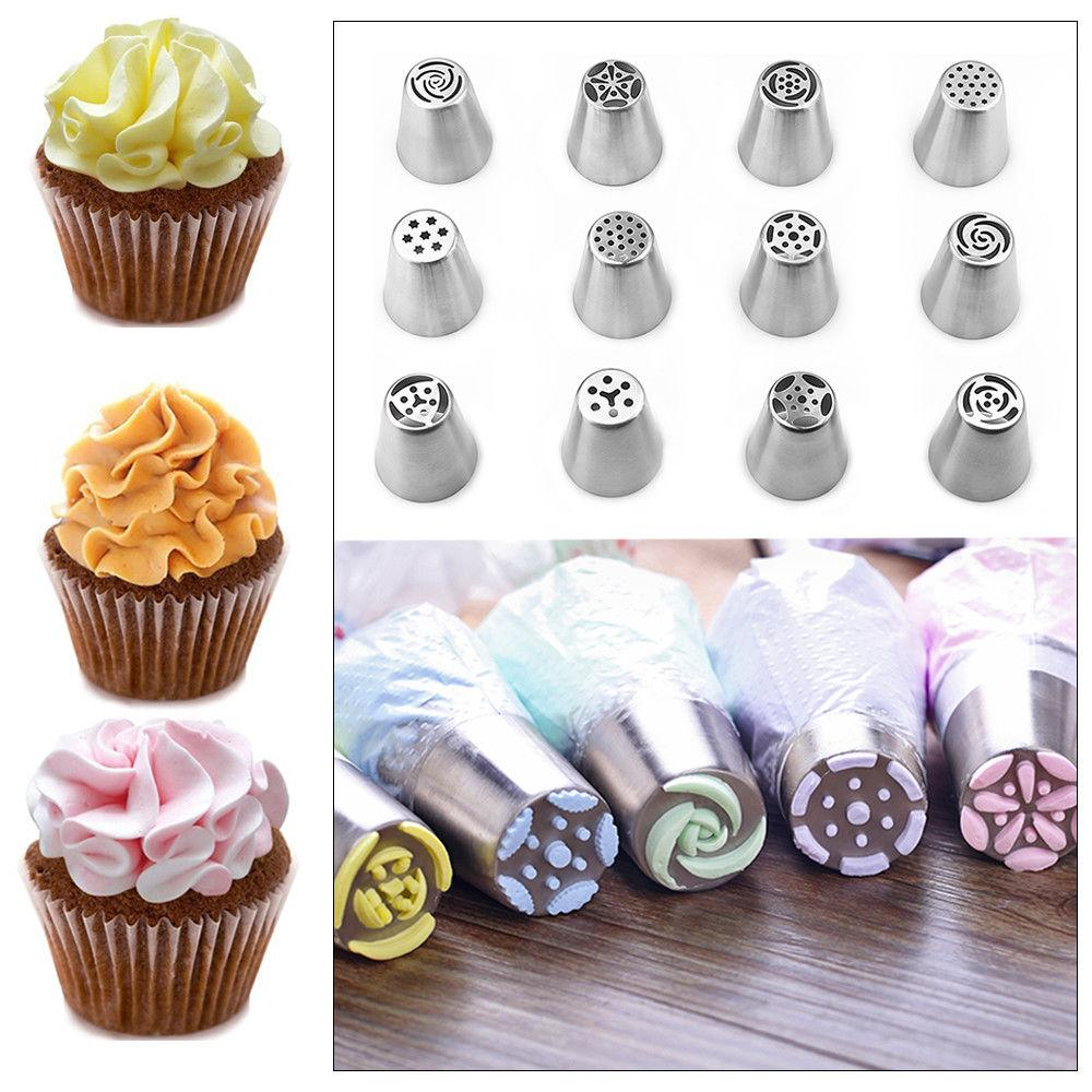 Russian Flower Cake Icing Piping Decorating Tips