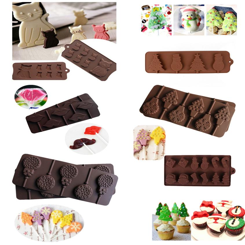Silicone Cake Moulds Candy DIY Baking