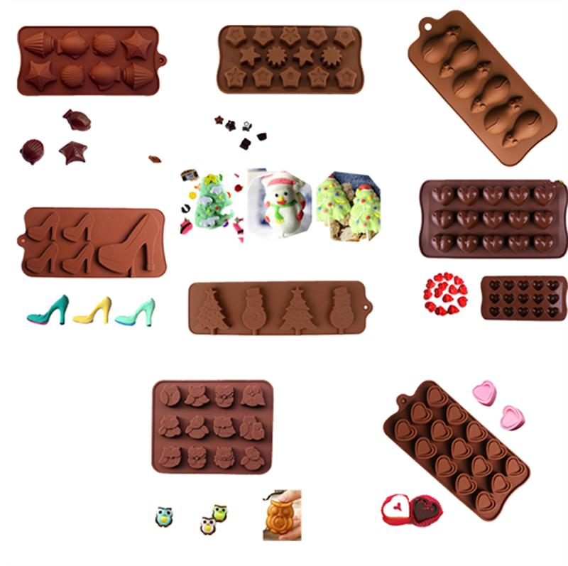 Silicone Candy Cookies Fondant DIY Mold