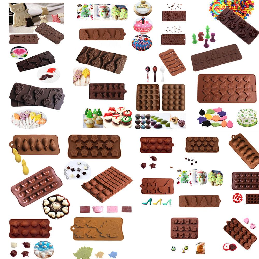silicone cake decorating moulds candy cookies chocolate