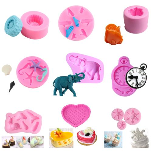 Silicone Fondant Mold Decorating Baking Mould