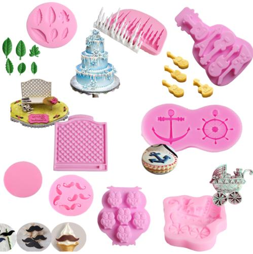 Silicone Mold Decorating Sugarcraft Baking Mould Tool