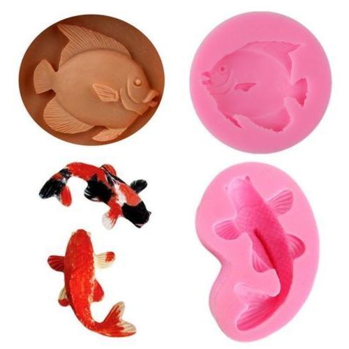Silicone Fondant Mold Decorating DIY Chocolate Sugarcraft Baking Mould