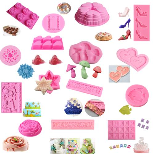 DIY 3D Mold Fondant Decorating Chocolate Mould