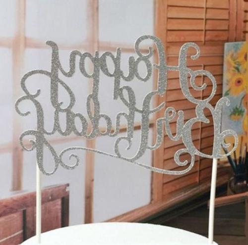 silver Happy Birthday Party Decorations