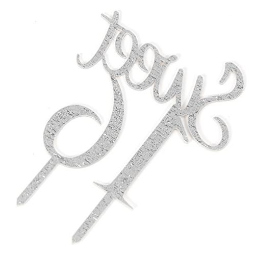 Silver 16 Topper Birthday Decorations Supplies