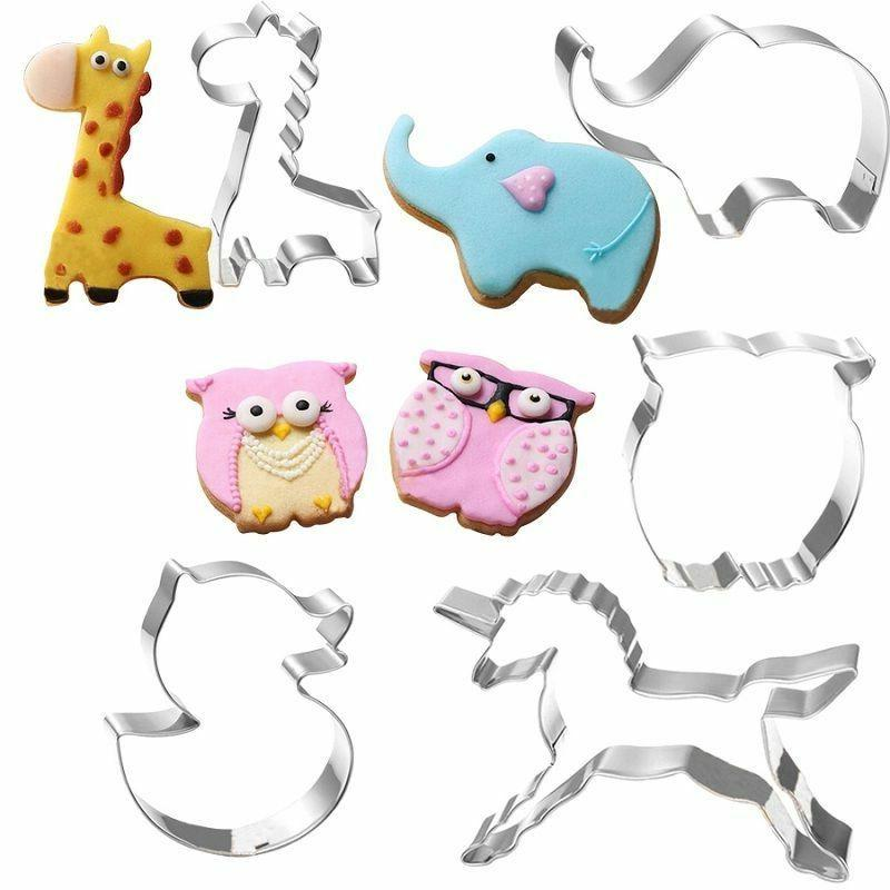 Stainless Cookie Cutter Cake Baking Mould Tools